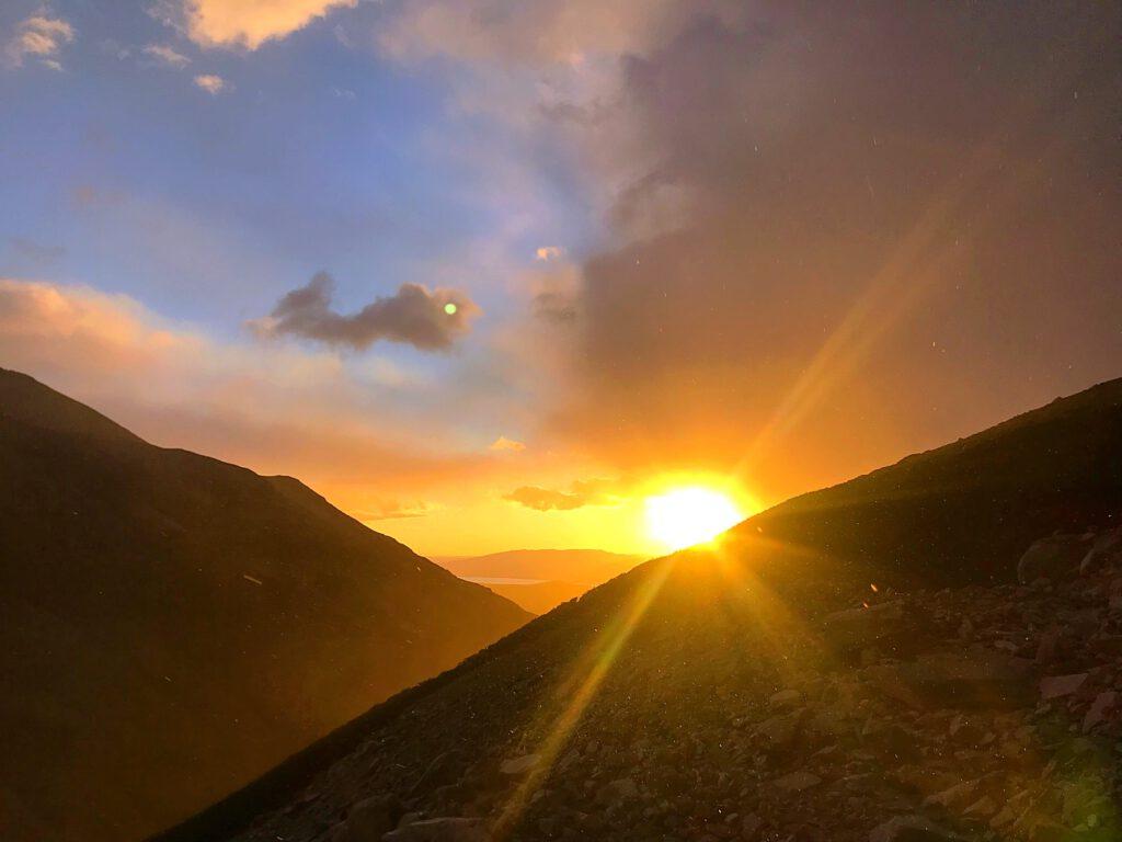 Zonsopkomst bij Torres Del Paine