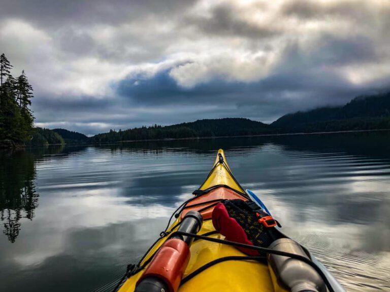 Kayaking op Haida Guaii