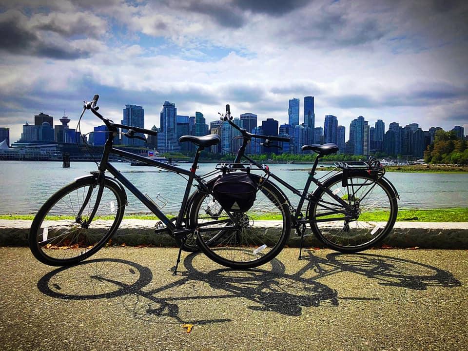 Vancouver ontdekken op de fiets