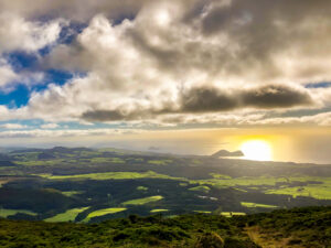 Panoramic view Azores - Terceira island