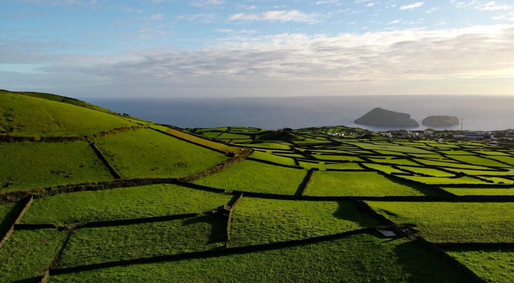 Dronen in De Azoren
