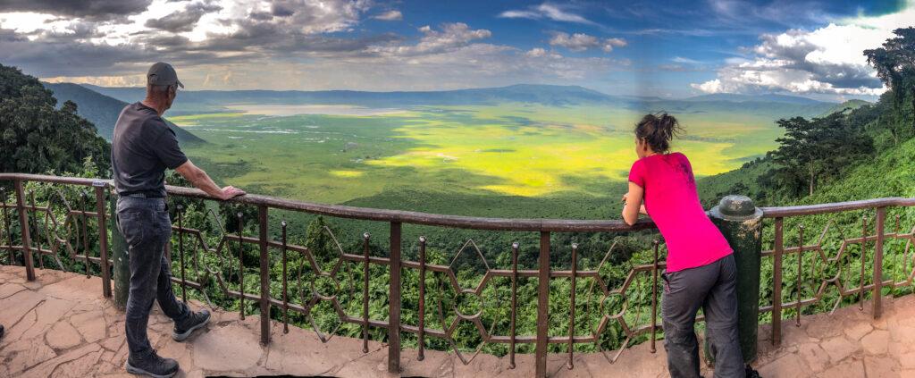 View Ngorongoro crater - Tanzania