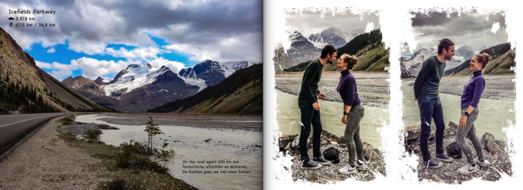 Fotoboek inspiratie - Canada - Icefields parkway