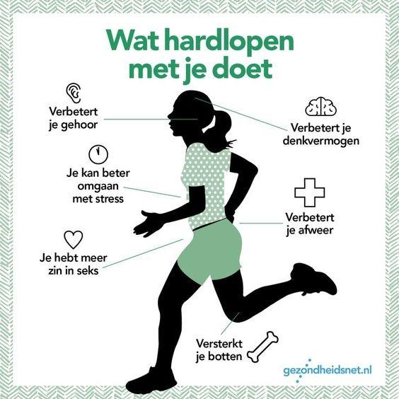 Wat hardlopen met je doet