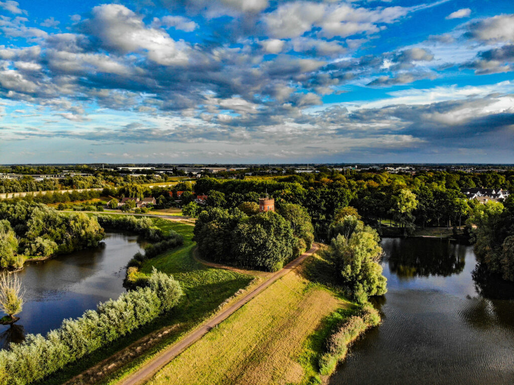 Zaltbommel from above | The Netherlands